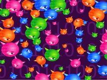 bakgrundsvirus stock illustrationer