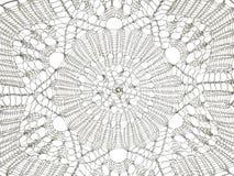 Bakgrundsvit snör åt mönstrar Arkivfoton