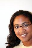 bakgrundswhitekvinna Arkivbilder