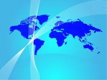 bakgrundsworldmap Fotografering för Bildbyråer