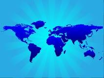 bakgrundsworldmap Arkivbild
