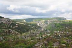 Bakhchisaraj town  (Crimea, Ukraine) Royalty Free Stock Images