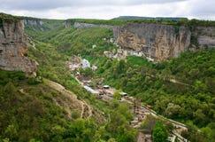Bakhchisaraj town  (Crimea, Ukraine) Stock Photo