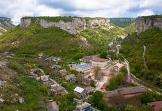 Bakhchisaraj town  (Crimea, Ukraine) Royalty Free Stock Photo