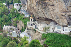 Bakhchisaray Assumption Caves Monastery Royalty Free Stock Photo