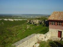 Bakhchisaray-Festung, Krim Stockfotos