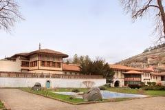 Bakhchisaray Palace in Bakhchisaray town (Crimea) Royalty Free Stock Images