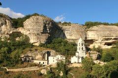 The Bakhchsarai Holy Dormition monastery Stock Photos