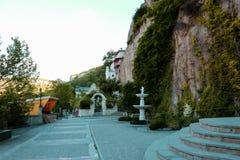 The Bakhchsarai Holy Dormition monastery Royalty Free Stock Photography