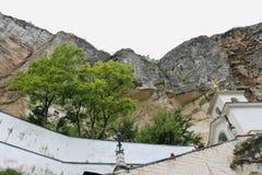 The Bakhchsarai Holy Dormition monastery Royalty Free Stock Image