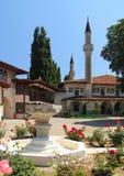 bakhchysarai khan宫殿s 免版税库存图片