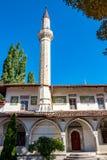 BAKHCHYSARAY, ΚΡΙΜΑΙΑ - ΤΟ ΣΕΠΤΈΜΒΡΙΟ ΤΟΥ 2014: Το παλάτι ή το Hansaray του Khan είναι Bakhchysarai στοκ φωτογραφίες με δικαίωμα ελεύθερης χρήσης