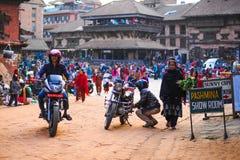 Bakhtapur Νεπάλ Στοκ Εικόνα
