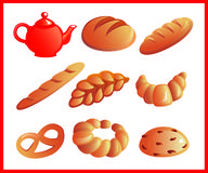 Baking vector illustration