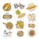 baking illustration libre de droits