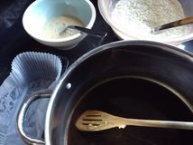 baking Foto de Stock Royalty Free