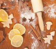 Baking background Stock Images