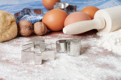 Baking background Royalty Free Stock Images