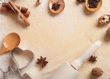 Baking background Stock Photos