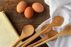Baking Background Stock Image