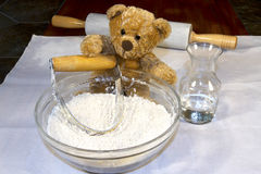 Baking Bear Stock Photo