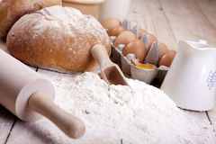 Baking Bread! Royalty Free Stock Images