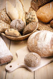 Baking bread! Stock Images
