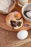 Baking of bread Stock Photo