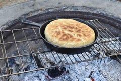 Baking bread Stock Photography