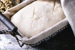 Baking bread Royalty Free Stock Photos