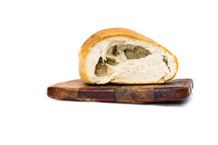 Baking Bread damage with a hole Stock Image