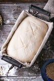 Baking bread Royalty Free Stock Photo