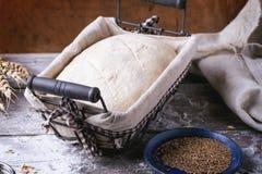 Baking bread Royalty Free Stock Photography