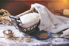 Baking bread Stock Photos