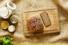 Baking bread mill scenery.tif royalty free stock image