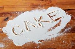 Baking cake Royalty Free Stock Photos