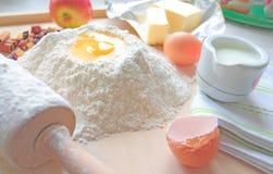 Baking cake Stock Image