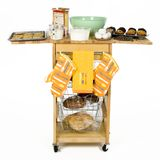 Baking Cart Royalty Free Stock Photography