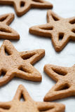 Baking christmas cookies Stock Photography