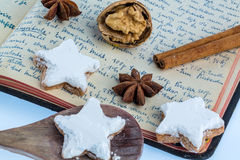 Baking for christmas Stock Photography