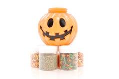 Baking Confetti For Halloween Stock Image