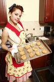 Baking cookies Royalty Free Stock Photos