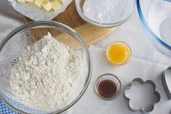 Baking Cookies Royalty Free Stock Image