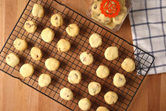 Baking cookies for auspicious reasons Royalty Free Stock Image