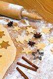 Baking cookies and biscuits for Stock Images