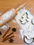 Baking cookies and biscuits for Stock Photos