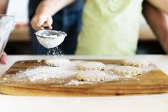 Baking Cookies Kid Bakery Fun Concept Royalty Free Stock Photo