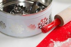 Baking cookies Stock Photography