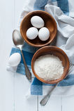 Baking and cooking background Royalty Free Stock Image