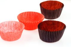 Baking cup cakes Royalty Free Stock Photography